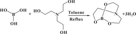 图9 生成三乙醇胺硼酸酯的反应式.jpg